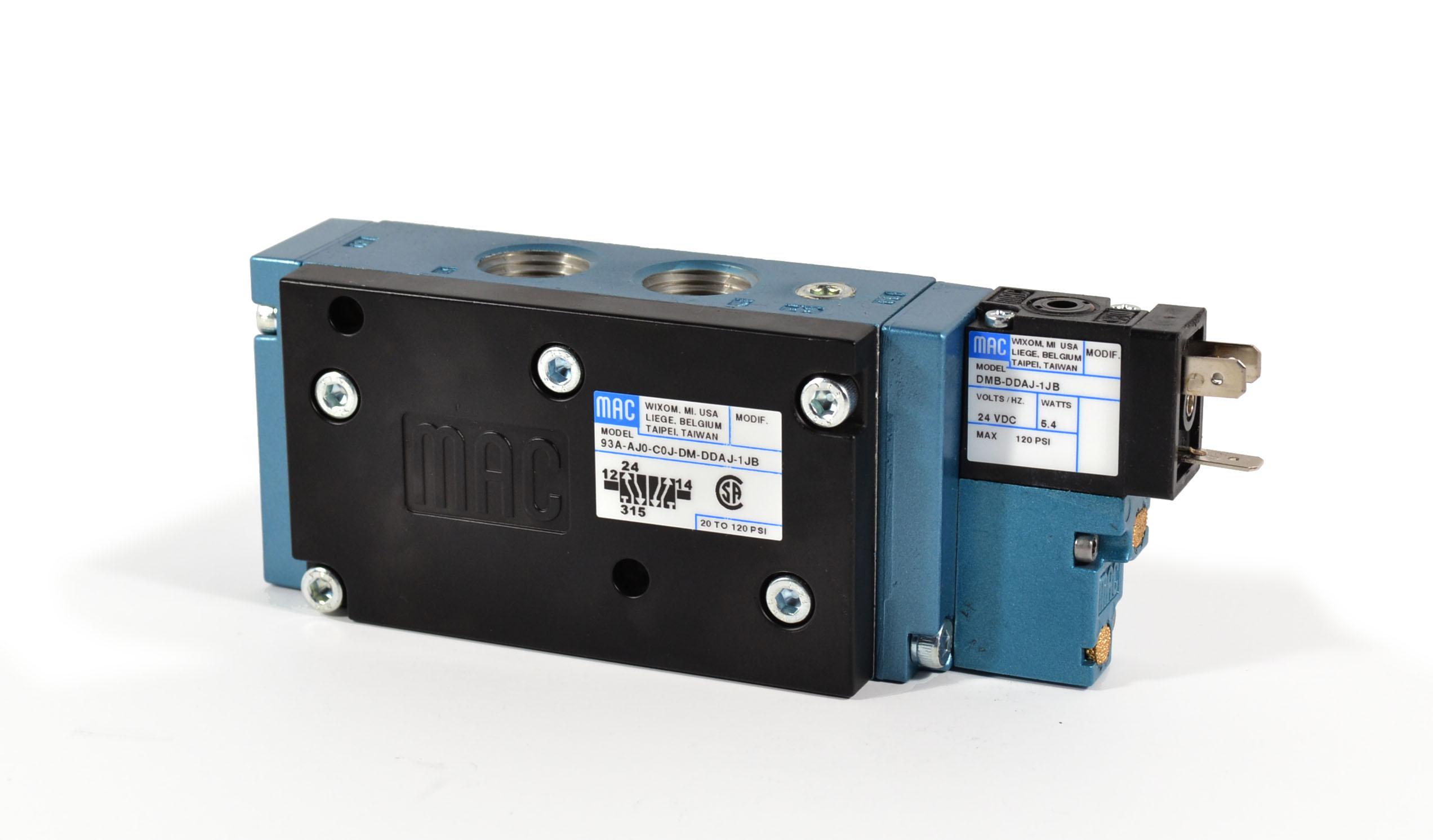 Details about  /MAC DMB-DDBJ-1KA 12VDC 120PSI NSMP